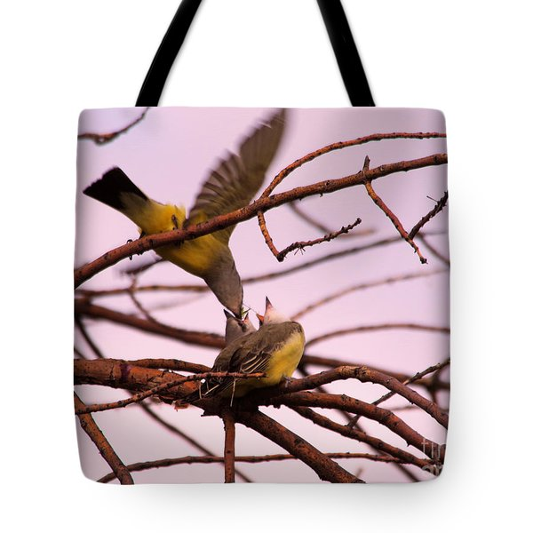 Where The Is Nature There Is Love Tote Bag