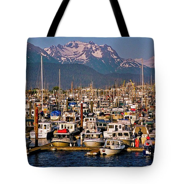 Where The Land Ends ... Tote Bag by Juergen Weiss
