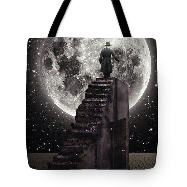 Where The Moon Rise Tote Bag