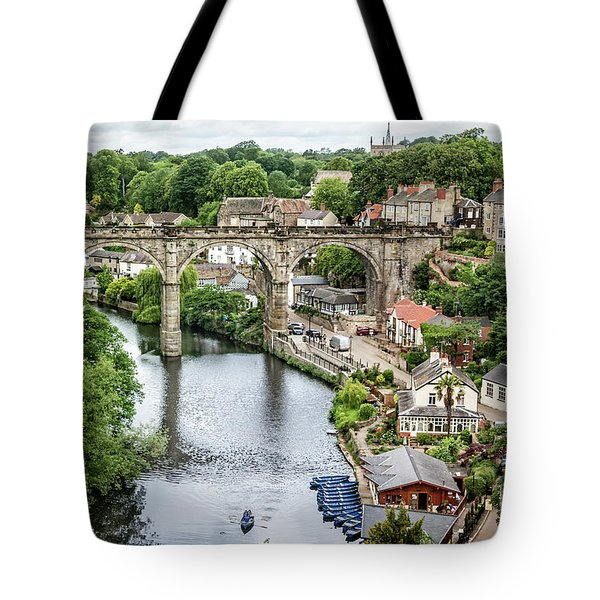 Where The River Flows Tote Bag