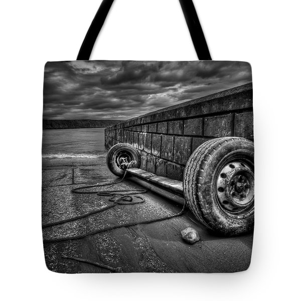 Where The Roads End... Tote Bag