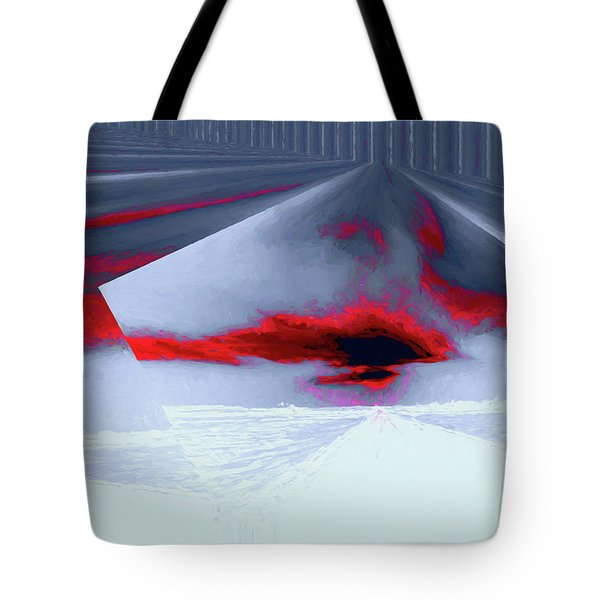 Where The Sky Bends Tote Bag by Aliceann Carlton