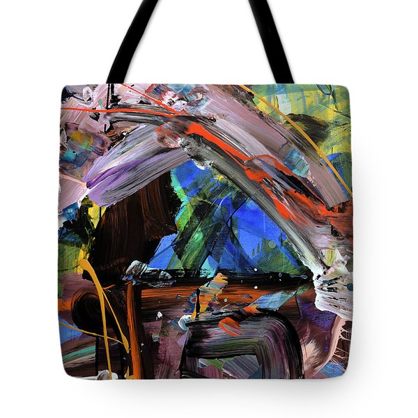 Where The Smiles Roam Abstract  Tote Bag