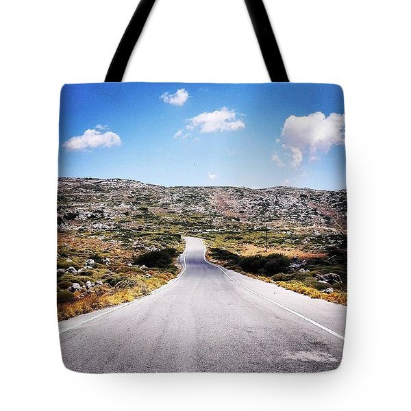 Where The Streets Have No Name Tote Bag
