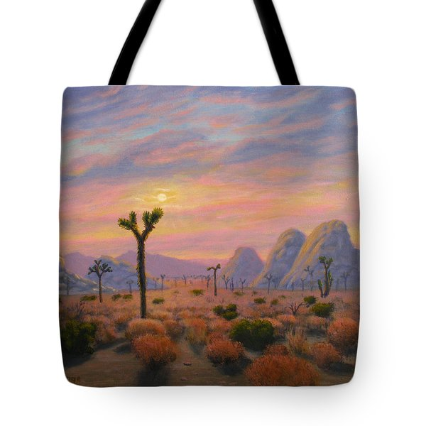 Where The Sun Sets Tote Bag