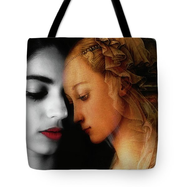 Tote Bag featuring the digital art Where The Wild Roses Grow  by Paul Lovering