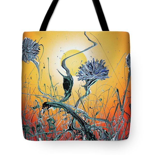 Where The Will Stills The Whispers Tote Bag