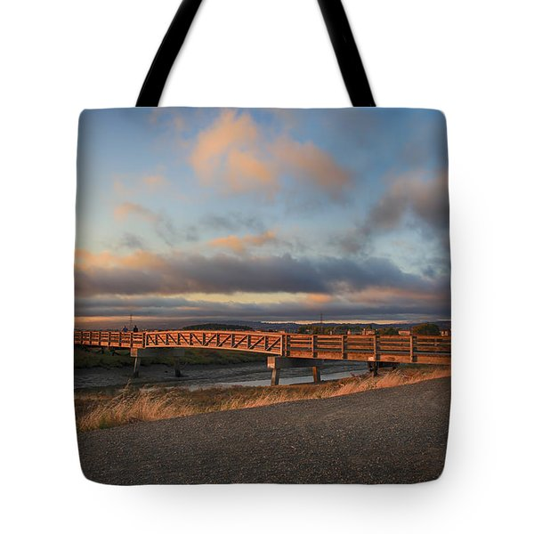 Where The Years Behind Are Piled Up High Tote Bag