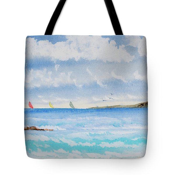 Where There's A Wind, There's A Race Tote Bag