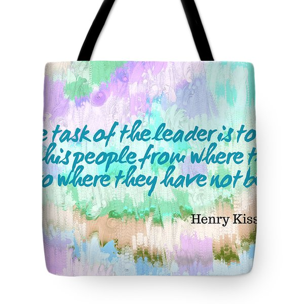 Where They Have Not Been Tote Bag