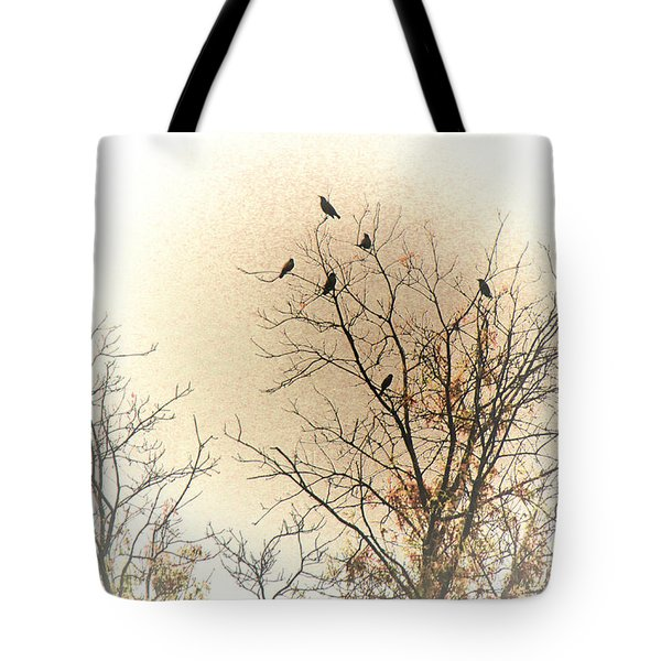 Where To Go From Here... Tote Bag by Bonnie Willis