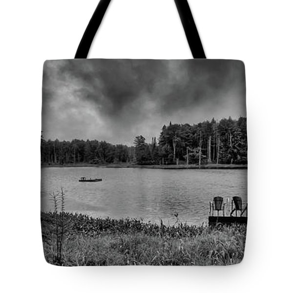 Tote Bag featuring the photograph Where To View Twin Ponds by David Patterson