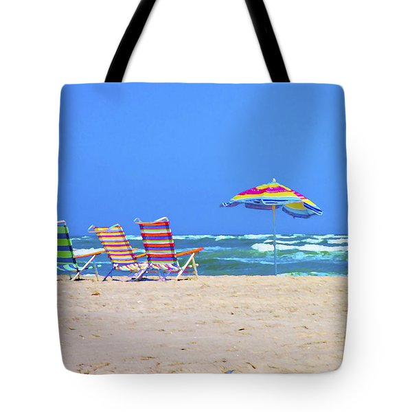 Where We Want To Be Tote Bag by Betsy Knapp