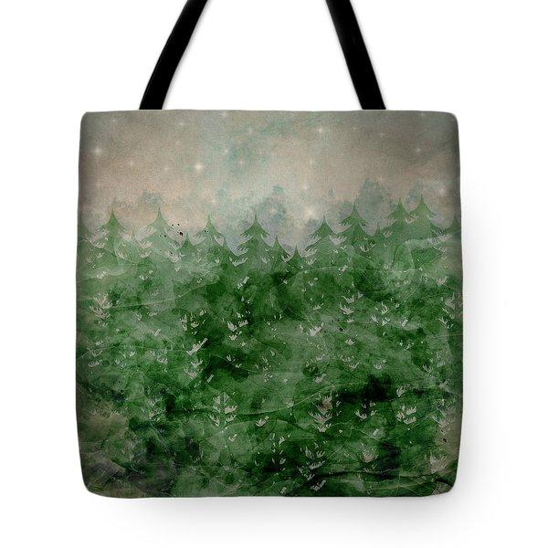 Where Wild Stars Fall  Tote Bag