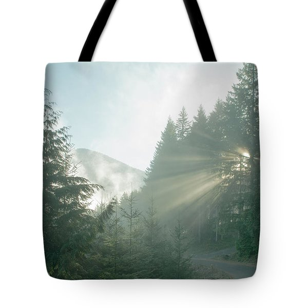 Where Will Your Road Take You? Tote Bag