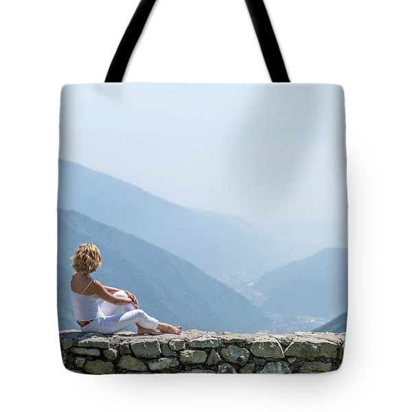 Where You Touch The Sky Tote Bag