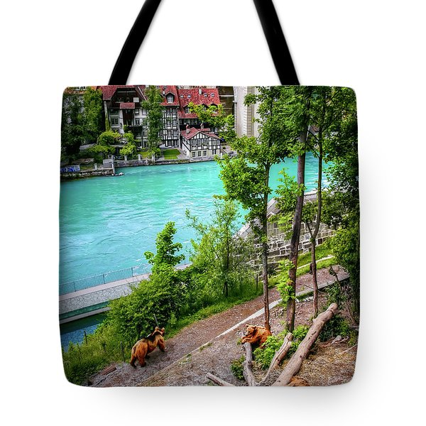 Where's Goldilocks? Bern Switzerland  Tote Bag
