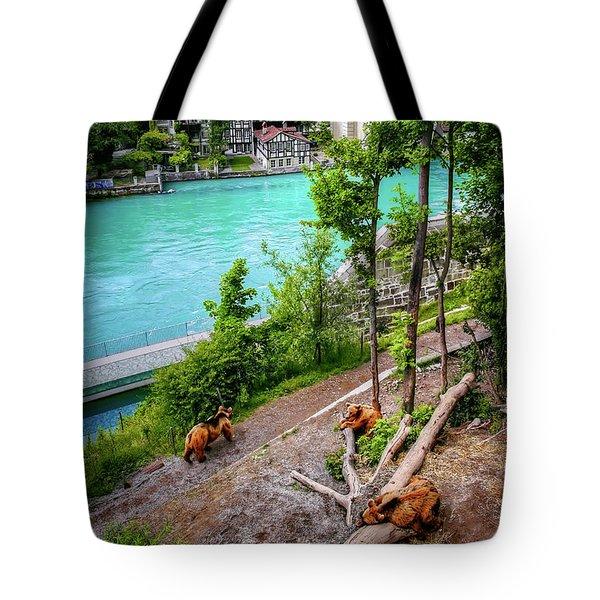 Where's Goldilocks? Bern Switzerland  Tote Bag