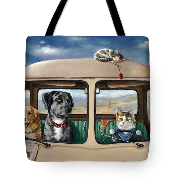 Where's Our Kitty? Tote Bag