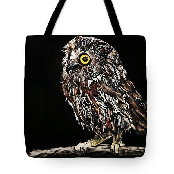 Whet Owl Tote Bag