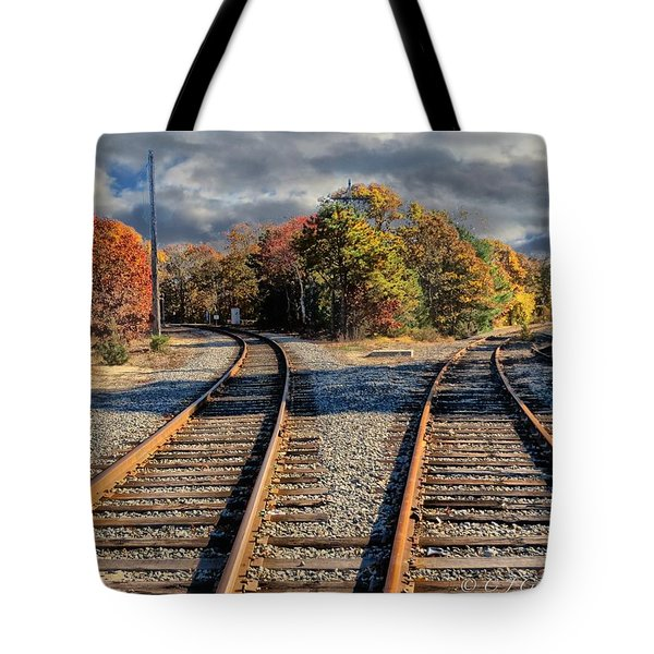 Tote Bag featuring the photograph Which Way by Constantine Gregory