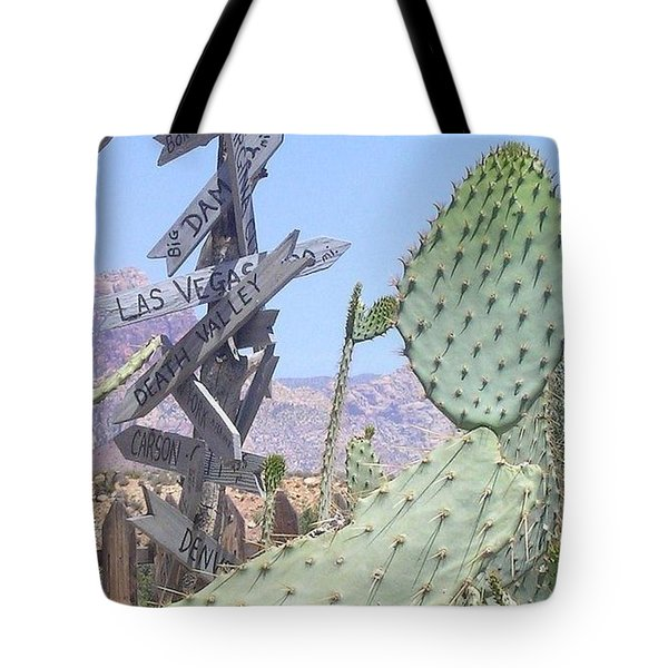 Tote Bag featuring the photograph Which Way Did They Go? by John Glass