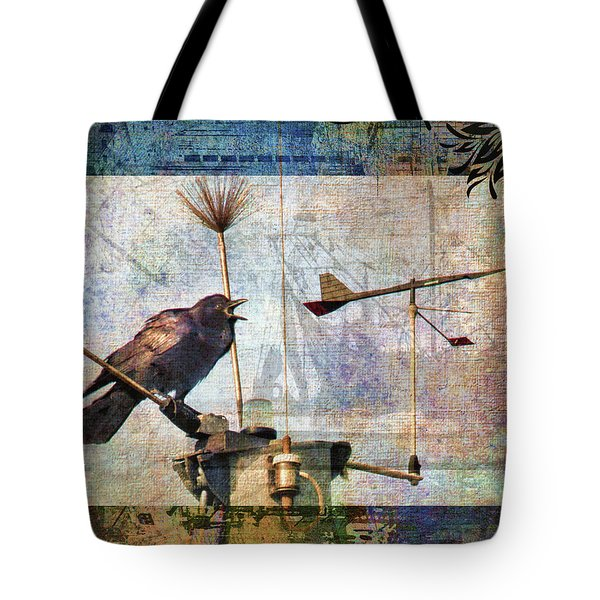 Which Way Tote Bag