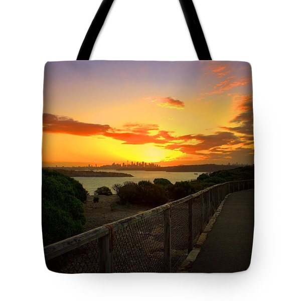 Tote Bag featuring the photograph While You Walk by Miroslava Jurcik
