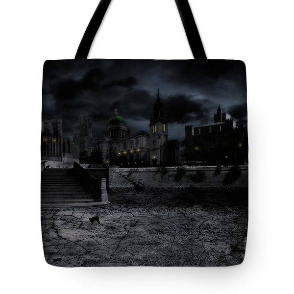 Whilst The City Sleeps Tote Bag by John Edwards