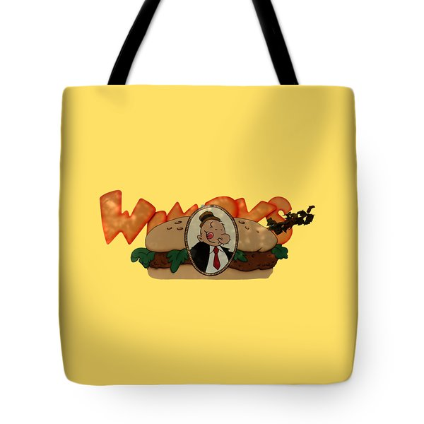Tote Bag featuring the photograph Whimpy by Tom Prendergast
