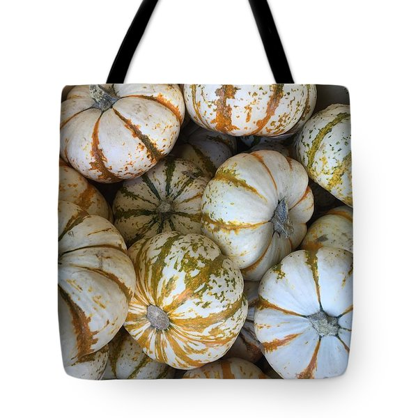 Whimsical Pumpkins Tote Bag by Russell Keating