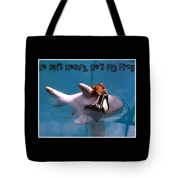Whimsical Shark Tote Bag by Irma BACKELANT GALLERIES