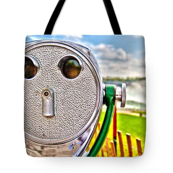 Whimsical View Tote Bag