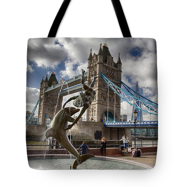 Whimsy At Tower Bridge Tote Bag