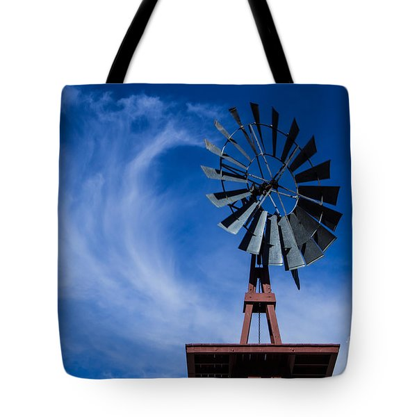 Whipping Up The Clouds Tote Bag