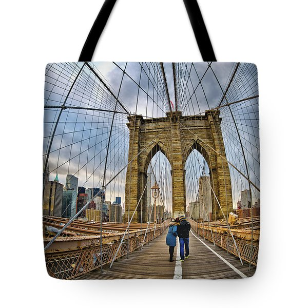 Whirled Wide Web Tote Bag