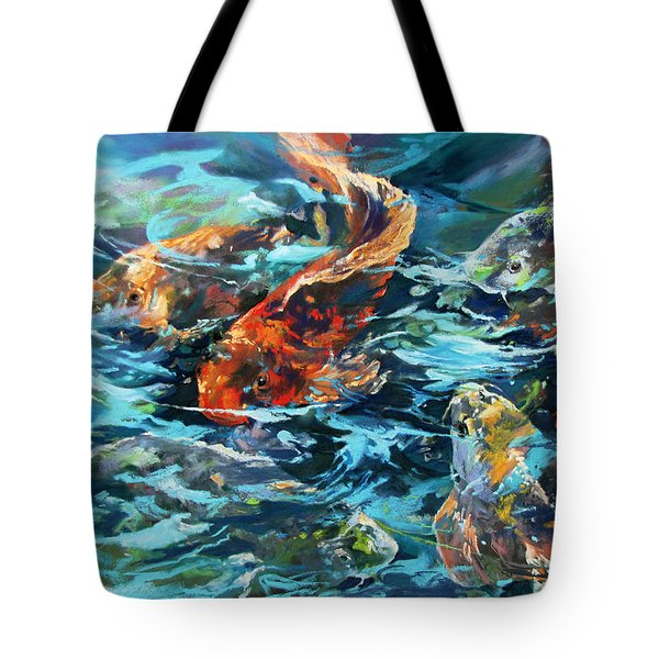 Whirling Dervish Tote Bag by Rae Andrews