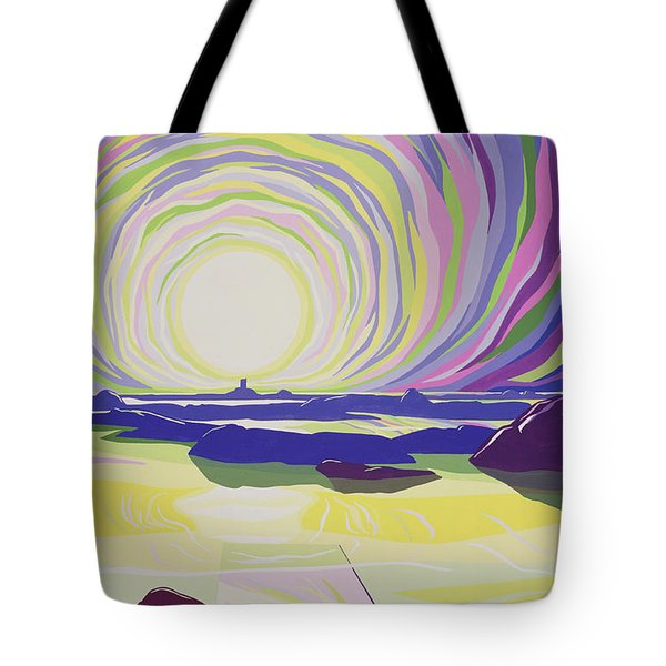 Whirling Sunrise - La Rocque Tote Bag by Derek Crow