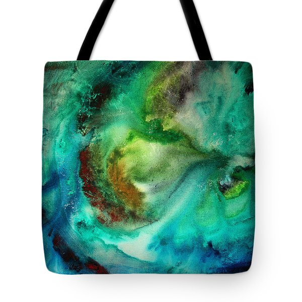 Whirlpool By Madart Tote Bag by Megan Duncanson