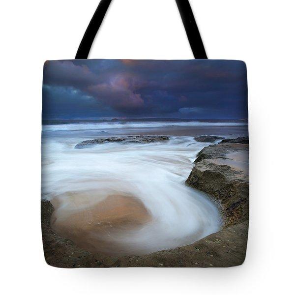Whirlpool Dawn Tote Bag by Mike  Dawson