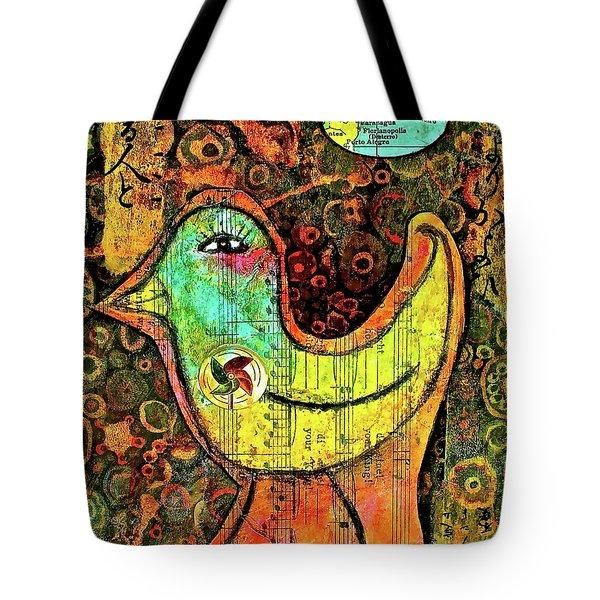 Whirly Bird Tote Bag