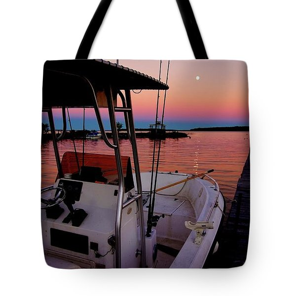 Whiskey Bay Tote Bag