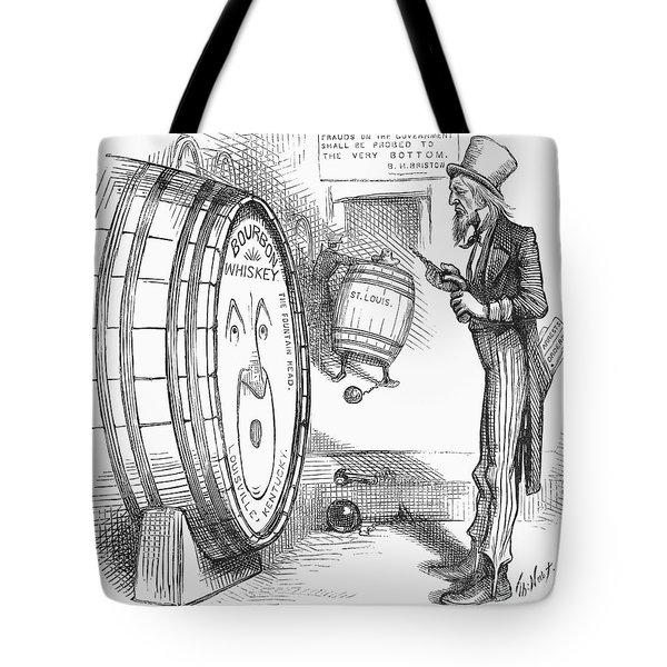 Whiskey Ring Cartoon, 1876 Tote Bag by Granger