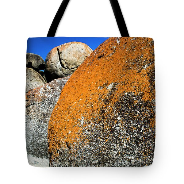 Tote Bag featuring the photograph Whisky Rocks by Angela DeFrias