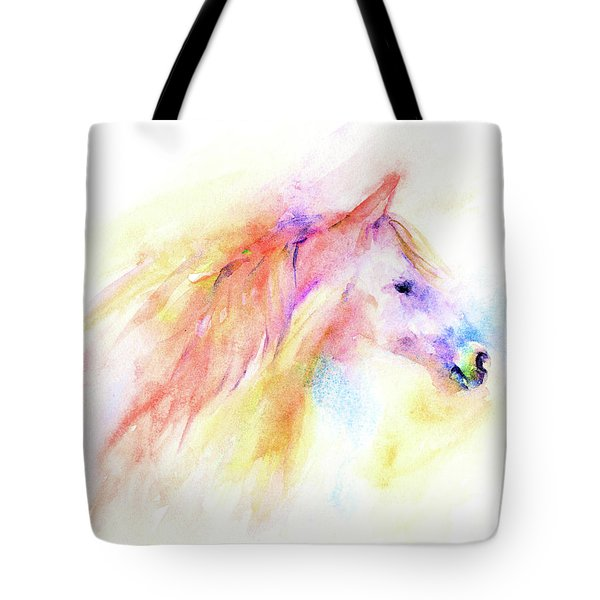 Tote Bag featuring the painting Whisper by Elizabeth Lock