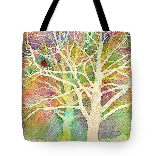 Whisper Tote Bag by Hailey E Herrera