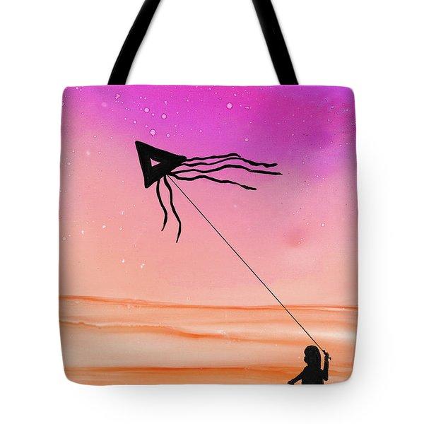 Whisper In The Wind Tote Bag