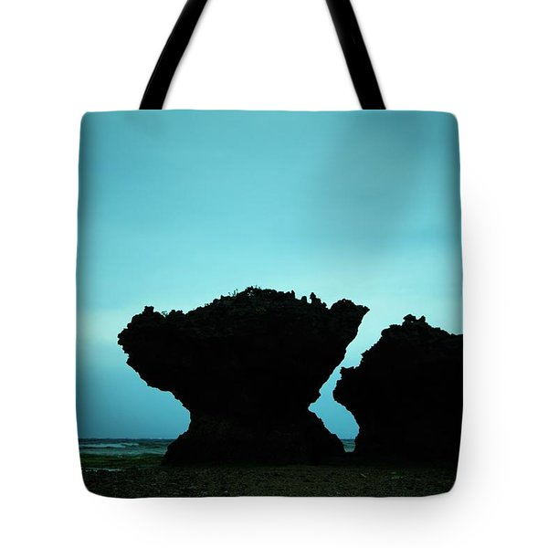 Whisper Of A Couple Rocks Tote Bag