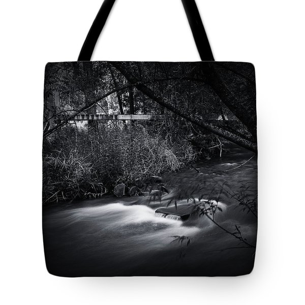 Tote Bag featuring the photograph Whispering Brooke by Tim Nichols