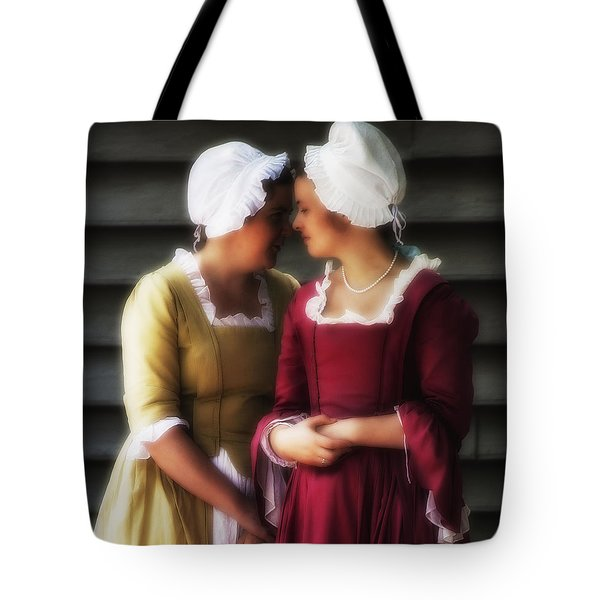 Tote Bag featuring the photograph Whispering Campaign  ... by Chuck Caramella